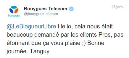 Bouygues Telecom met fin aux débits bridés : bravo !