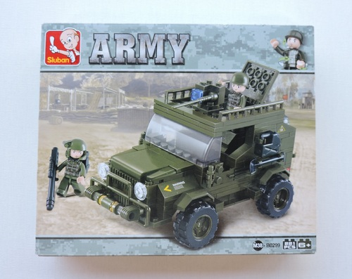 SLUBAN - Jeep commando (221 pièces)