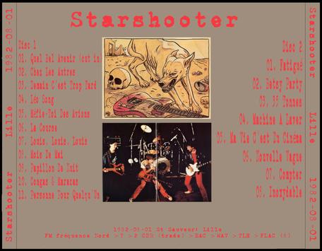 Ze Fenche ouique - Jour 5 - Starshooter - Lille St Sauveur - 1er Août 1982 FM