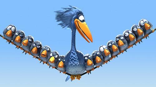 Les birds ...