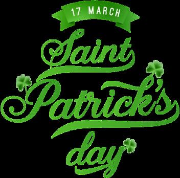 wordart St Patrick