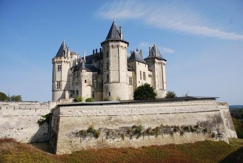 Le zâteau de Saumur