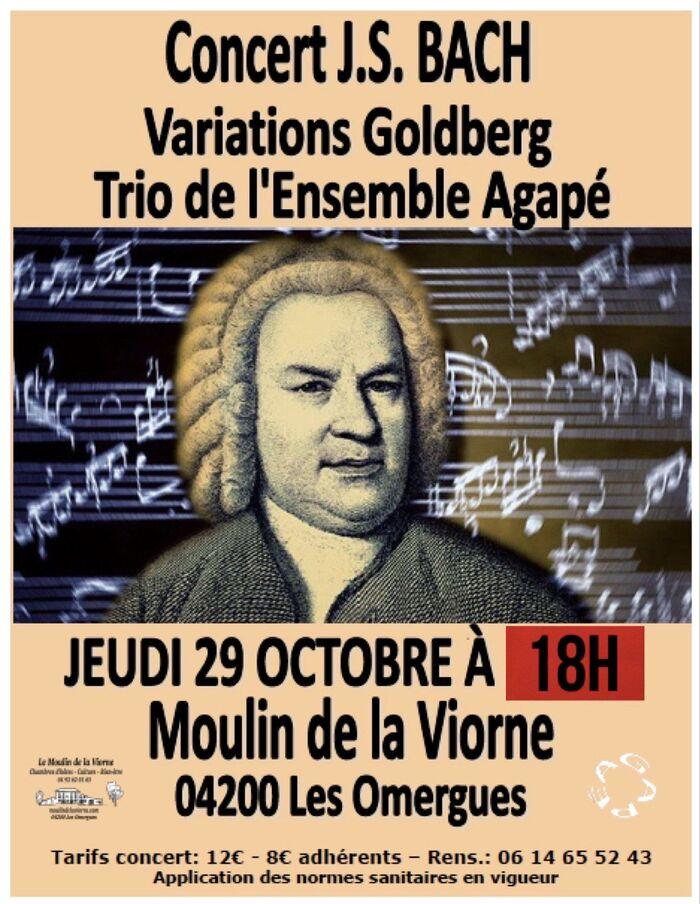 *Ensemble Agapé en concerts Jeu 29 Oct à 18 H Moulin de la Viorne...