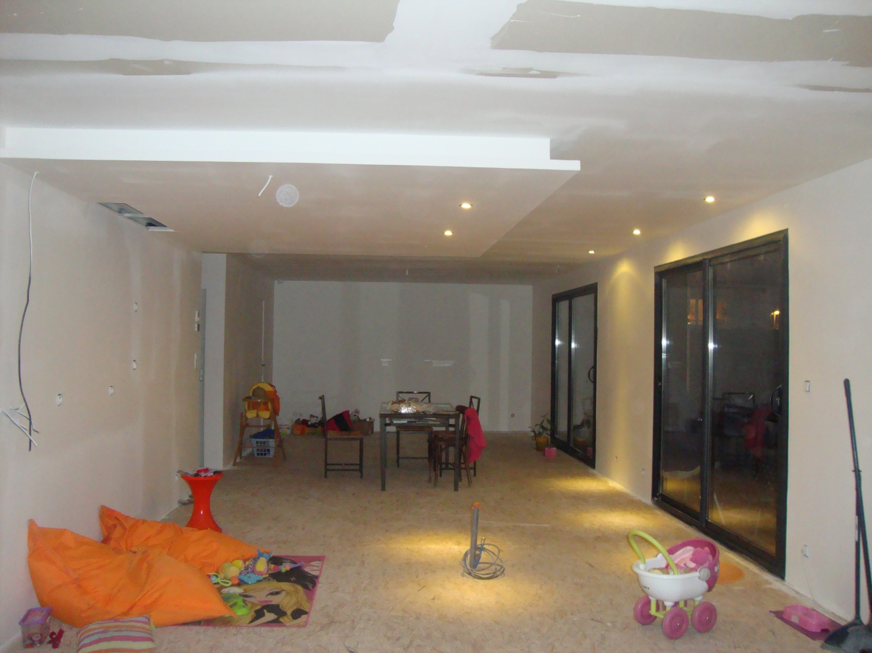 faux plafond bois cuisine. Black Bedroom Furniture Sets. Home Design Ideas