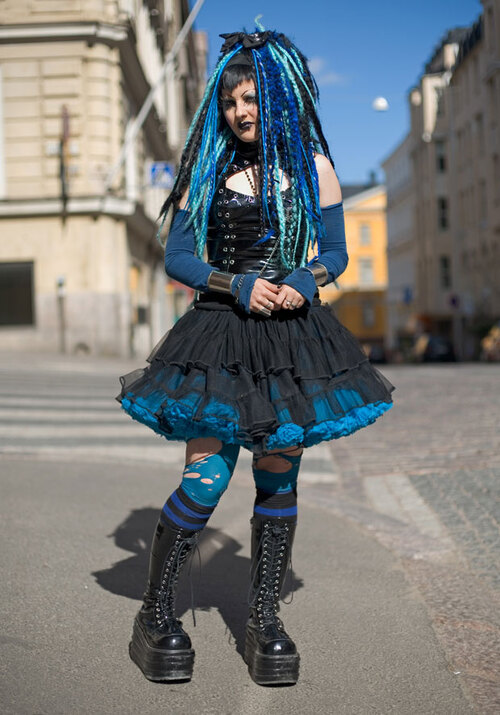 The Godmother of Finnish Street Style.