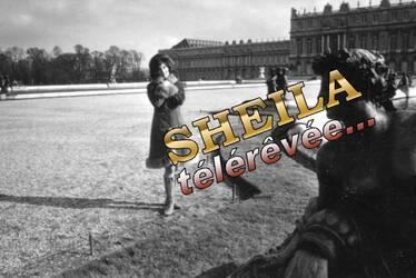 Mars 1965 : Sheila à Versailles. INEDIT !