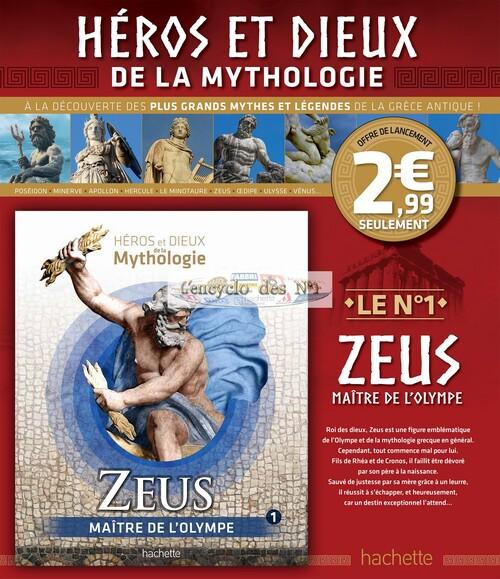 N° 1 Héros et dieux de la mythologie - Test