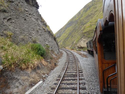"Train de la ""Nariz del Diablo"" à Alausi 2/2"