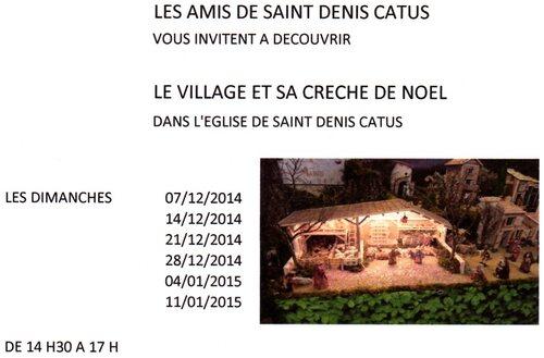 Crèche de Saint-Denis 2014