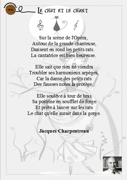 Le chat et le chant
