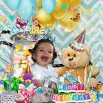 It's my birthday party