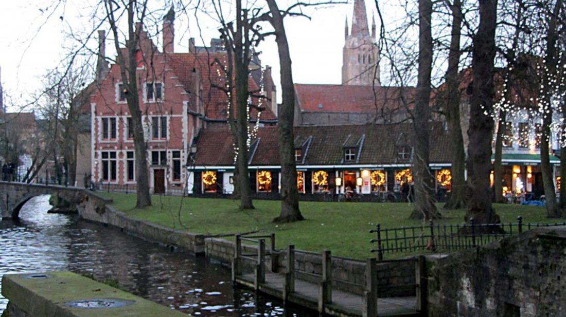 Bruges (les canaux)