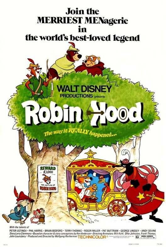 ROBIN HOOD BOX OFFICE USA 1973