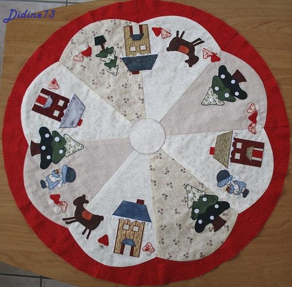 Mon tapis de sapin - étape 5