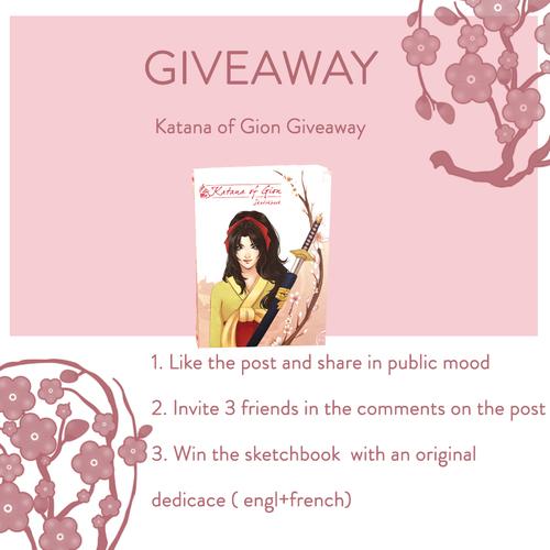 GiveAway Katana of Gion