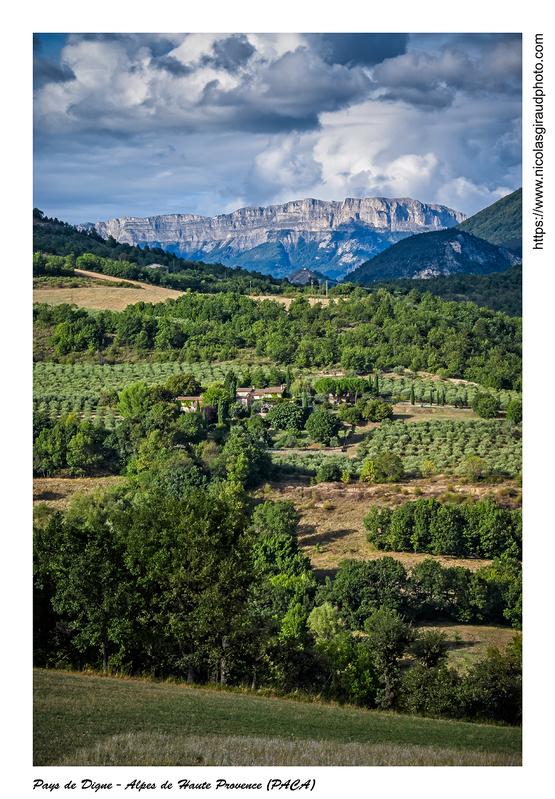 Pays de Digne du val de Durance à la Bléone (PACA)