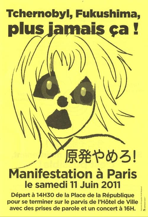 Fukushima plus jamais ça !