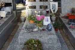 Hommage à Georges Brassens - Cimetière Le Py - Sète