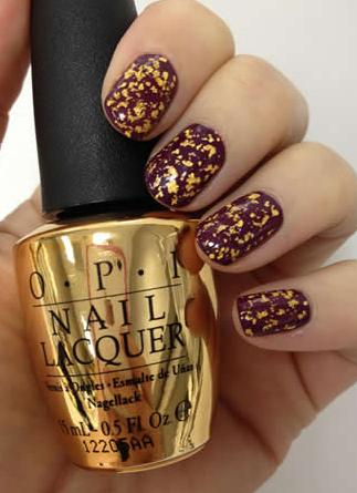 Le top coat O.P.I ... En OR!