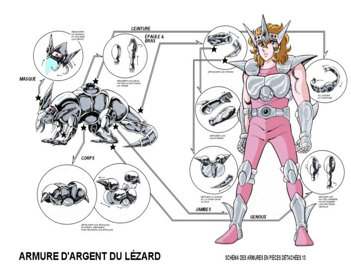 XX - Armure du Lézard (Lacerta Cloth)