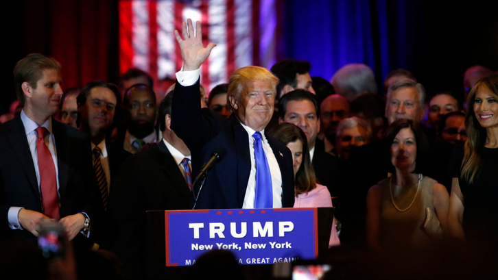 Rien ne semble freiner l'ascension de Donald Trump