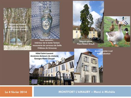 Visite guidée de Montfort l'Amaury
