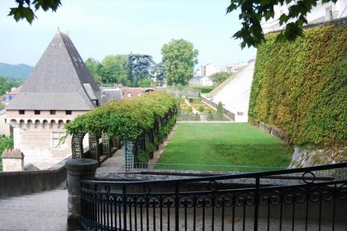 Chateau de Pau, côté jardin