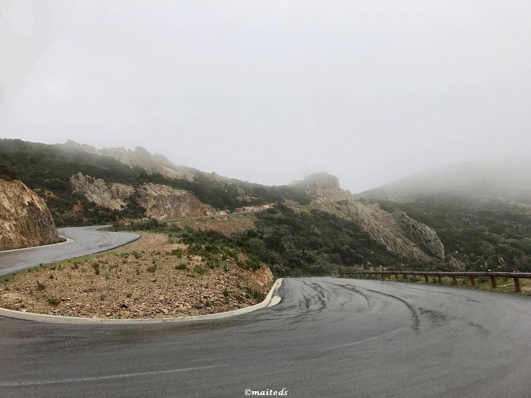 Brume corse au col du Marsulinu - Calenzana  - 25 mars 2017