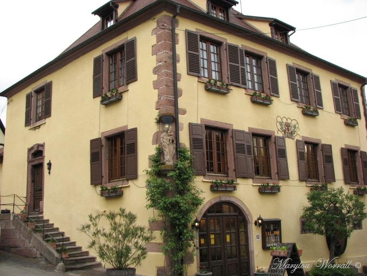 Saint Hippolyte (68) : Place de l'Hôtel de Ville