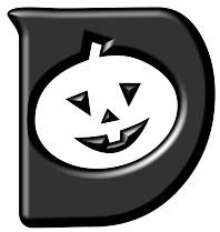 Alphabet Halloween