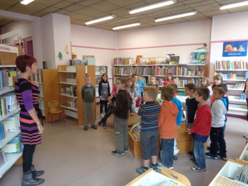Visite à la bibliothèque de Verdun