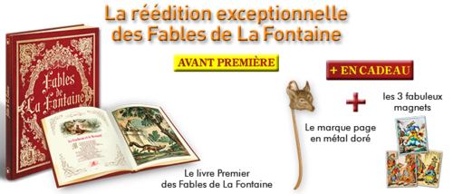 "Collection "" Fables et contes illustrés de La Fontaine "" - Lancement"