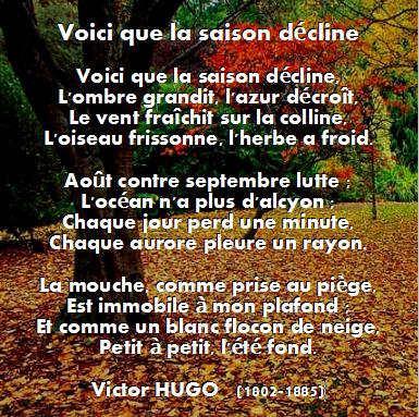 Hugo Victor - Voici que la saison