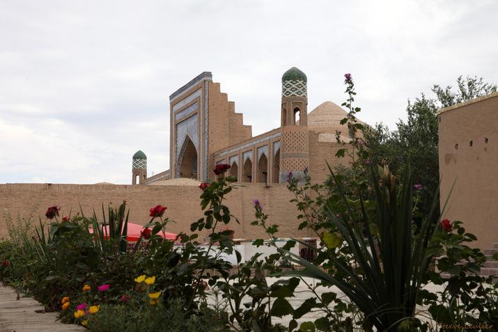 La médersa Mohammed Rahim Khan, Khiva