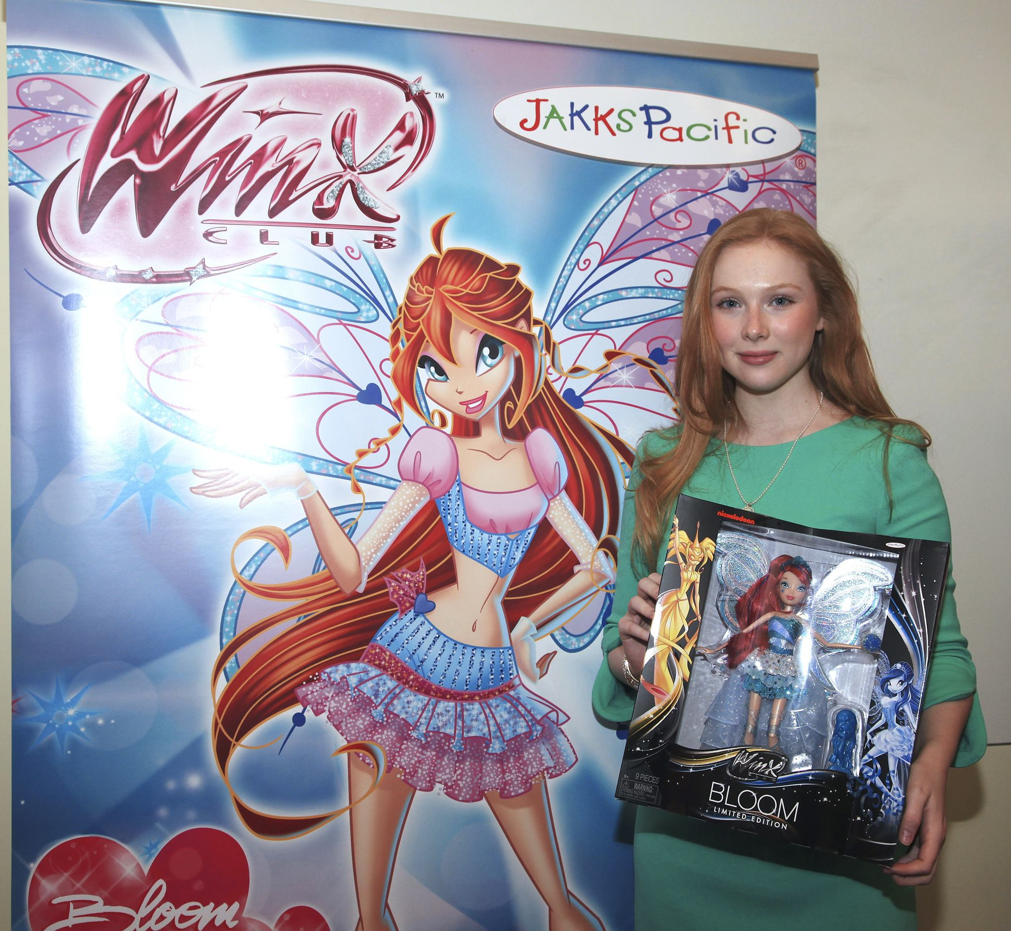 Molly Quinn et Bloom Harmonix Deluxe