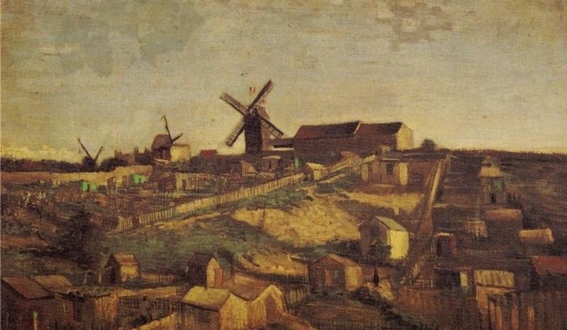 Montmartre et ses moulins ...