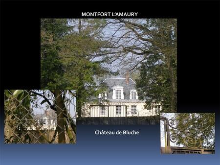 Le château de Bluche à Montfort l'Amaury