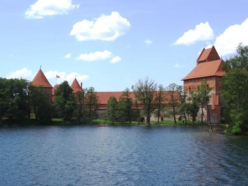 Trakai - ancienne capitale de Lituanie - et son château
