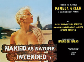 Naked as Nature Intended / As Nature Intended Featuring the Five Nature Girls. 1961.