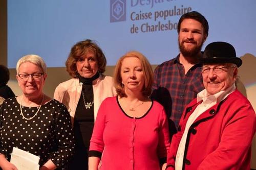 Les gagnants de la 9e édition (à l'exception de Ginette Bernatchez)