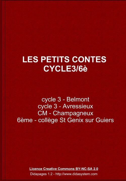français - travail collaboratif autour des contes - cycle 3/6è