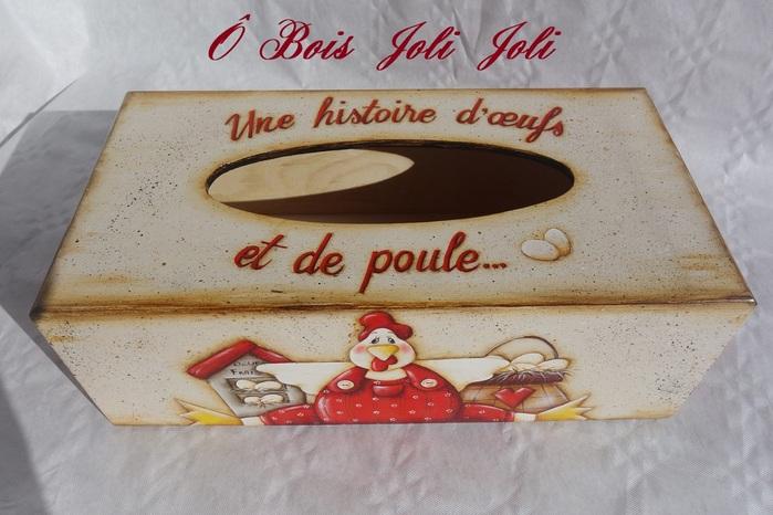 Histoire d'Oeufs et de Poule....