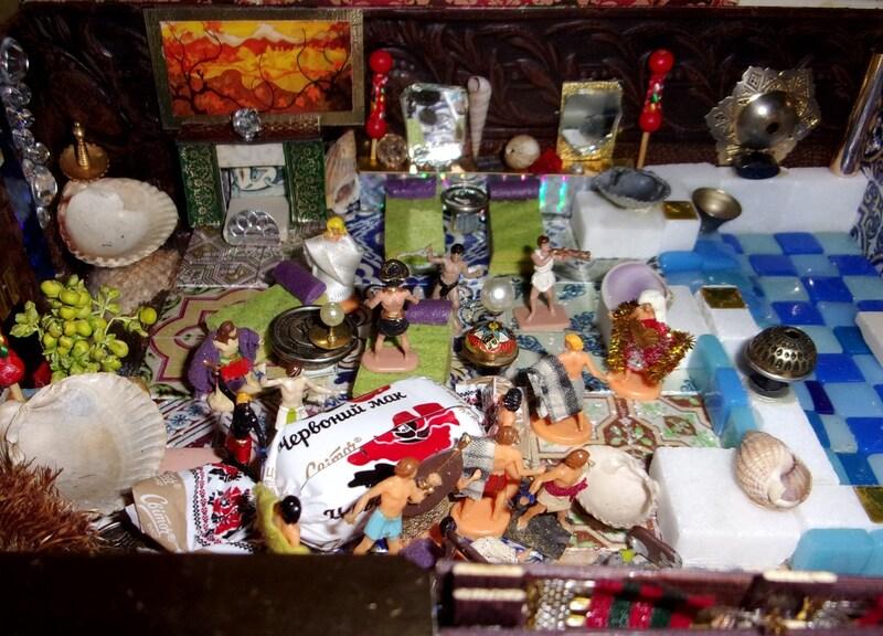 Aujourd'hui : les Orchidiens fêtent Noël, grosse bouffe et jeux du cirque