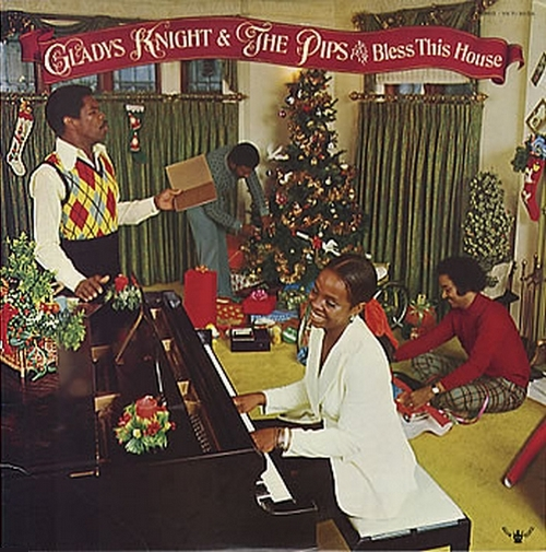"Gladys Knight & The Pips : Album "" Bless This House "" Buddah Records BDS 5651 [ US ]"
