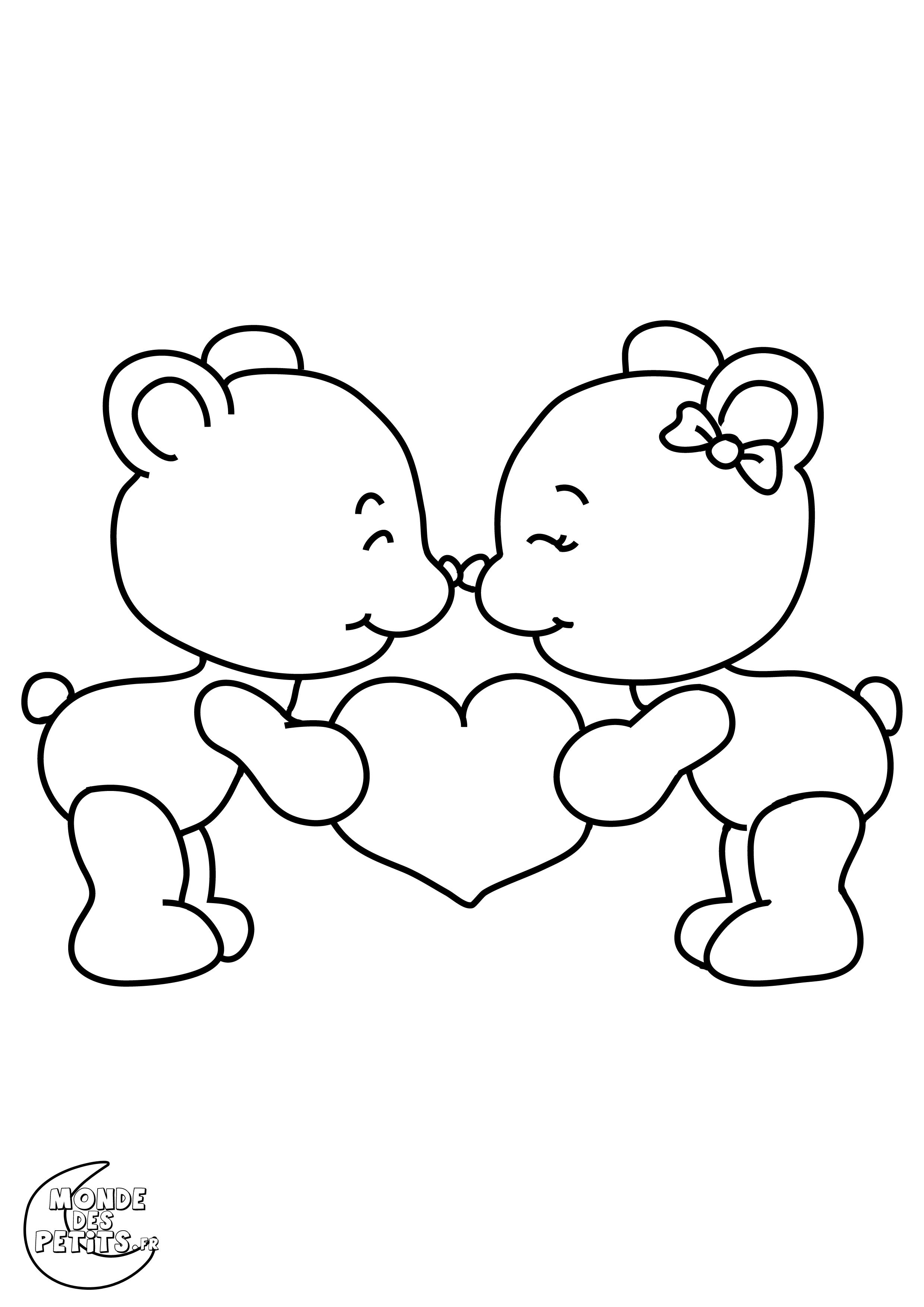 Coloriages de saint valentin le blog de kikyne - Des dessin a imprimer gratuit ...