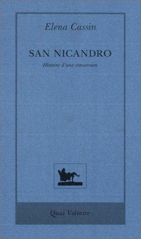 Elena Cassin - San Nicandro, Histoire d'une conversion (1957)(recension)