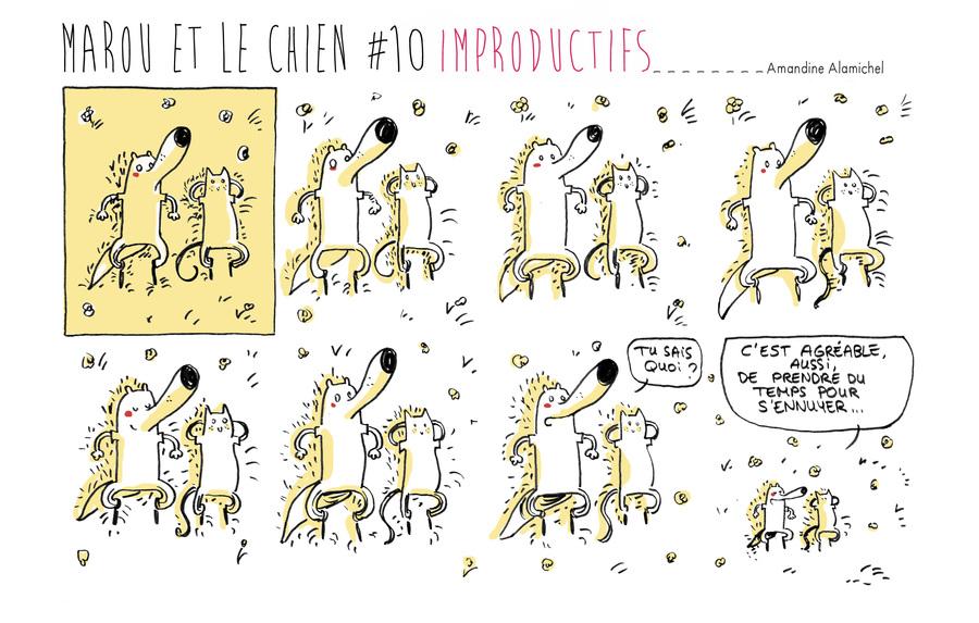 Marou et le chien #10 Improductifs