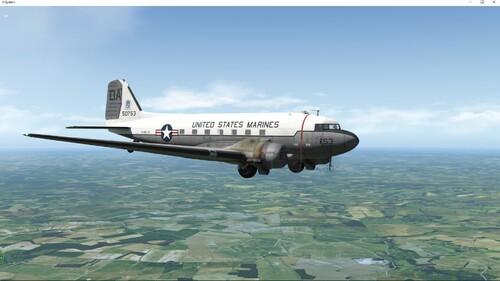 Le C-47 d'Aeroworks