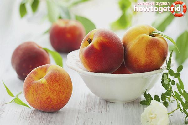Персики при диабете 1 типа