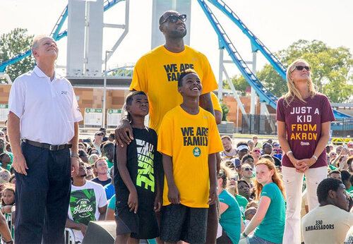 LeBron James Donates $41 Million.